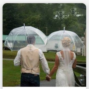 Clear Wedding Umbrellas
